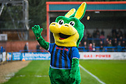 Rochdale AFC mascot before the EFL Sky Bet League 1 match between Rochdale and Wycombe Wanderers at the Crown Oil Arena, Rochdale, England on 28 September 2019.