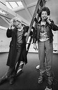 The Professionals - Paul Cooke and Steve Jones - ex Sex Pistols - 1981
