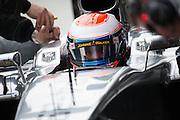 Circuito de Jerez, Spain : Formula One Pre-season Testing 2014. Kevin Magnussen, McLaren-Mercedes