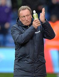 Crystal Palace Manager, Neil Warnock - Photo mandatory by-line: Alex James/JMP - Mobile: 07966 386802 - 23/11/2014 - Sport - Football - London -  - Crystal palace  v Liverpool - Barclays Premier League