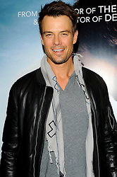 Josh Duhamel during An Evening with Nicholas Sparks, Waterstones, London, UK, February 20, 2013.  Photo by Chris Joseph / i-Images.
