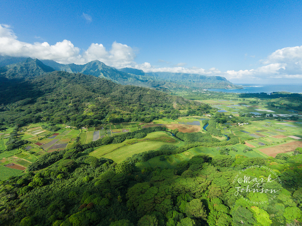 Hanalei Valley, Kauai, Hawaii, USA