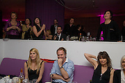 Meredith Ostrom, Simon Mills, Chrissie Hynd,Eve McGregor, Ewan McGregor and Sharleen Spiteri aboved.  Not Another Burns night.  Fundraising gala in aid of Clic Sargent and Children's Hospice Association Scotland (CHAS)St. Martin's Lane Hotel.  Monday 3rd March *** Local Caption *** -DO NOT ARCHIVE-© Copyright Photograph by Dafydd Jones. 248 Clapham Rd. London SW9 0PZ. Tel 0207 820 0771. www.dafjones.com.
