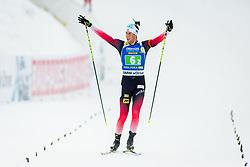 Lars Helge Birkeland (NOR) during Single Mixed Relay at day 1 of IBU Biathlon World Cup 2018/19 Pokljuka, on December 2, 2018 in Rudno polje, Pokljuka, Pokljuka, Slovenia. Photo by Ziga Zupan / Sportida
