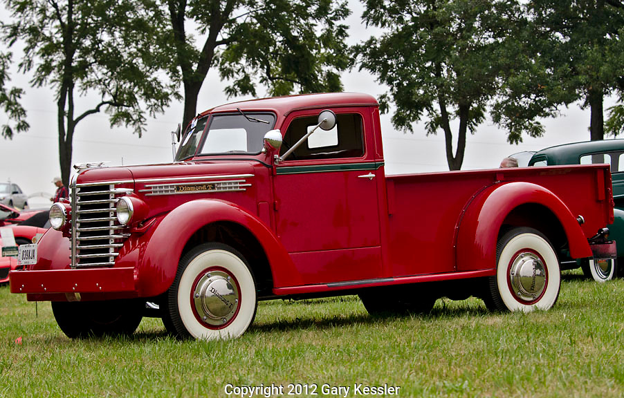 Diamond T Pickup Truck,Keeneland Concours D'Elegance,Lexington,Ky.