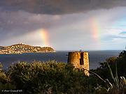 from the villa near Cagliari
