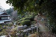 Tempel nummer 69, Kannon-ji <br /> <br /> Pilgrimsvandring till 88 tempel på japanska ön Shikoku till minne av den japanske munken Kūkai (Kōbō Daishi). <br /> <br /> Fotograf: Christina Sjögren<br /> Copyright 2018, All Rights Reserved<br /> <br /> Temple 69 Kannon-ji (観音寺)  of the Shikoku Pilgrimage, 88 temples associated with the Buddhist monk Kūkai (Kōbō Daishi) on the island of Shikoku, Japan<br /> <br /> Photographer: Christina Sjögren<br /> Copyright 2018, All Rights Reserved