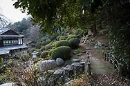 Tempel nummer 69, Kannon-ji <br /> <br /> Pilgrimsvandring till 88 tempel p&aring; japanska &ouml;n Shikoku till minne av den japanske munken Kūkai (Kōbō Daishi). <br /> <br /> Fotograf: Christina Sj&ouml;gren<br /> Copyright 2018, All Rights Reserved<br /> <br /> Temple 69 Kannon-ji (観音寺)  of the Shikoku Pilgrimage, 88 temples associated with the Buddhist monk Kūkai (Kōbō Daishi) on the island of Shikoku, Japan