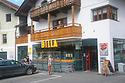 BILLA Convenience store Photographed in Austria