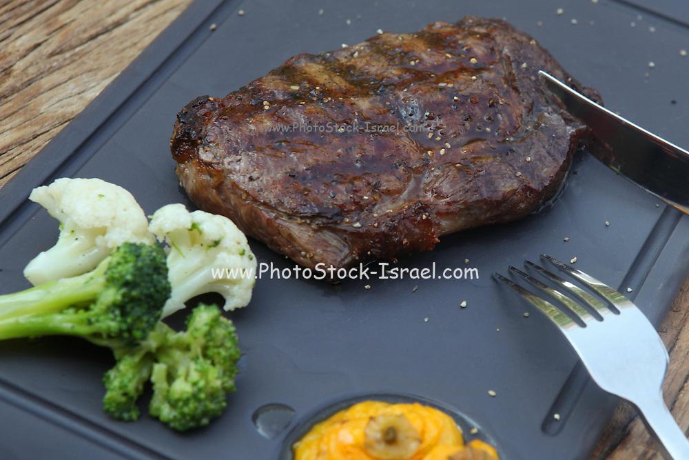 Char grilled Japanese Kobe beef