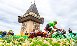 02.07.2017, Graz, AUT, Ö-Tour, Österreich Radrundfahrt 2017, 1. Etappe, Prolog, im Bild Sep Vanmarcke (BEL, Cannondale Drapac Professional Cycling Team) // during Stage 1, Prolog of 2017 Tour of Austria. Graz, Austria on 2017/07/02. EXPA Pictures © 2017, PhotoCredit: EXPA/ JFK