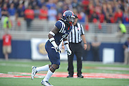 Mississippi Rebels defensive back Trae Elston (7) vs. Louisiana-Lafayette at Vaught-Hemingway Stadium in Oxford, Miss. on Saturday, September 13, 2014. Ole Miss won 56-15 to improve to 3-0.
