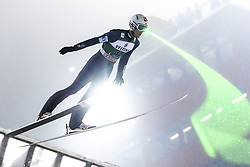 February 8, 2019 - Lahti, Finland - Daniel-André Tande participates in FIS Ski Jumping World Cup Large Hill Individual training at Lahti Ski Games in Lahti, Finland on 8 February 2019. (Credit Image: © Antti Yrjonen/NurPhoto via ZUMA Press)