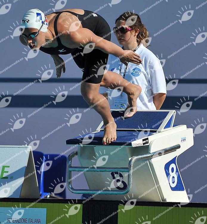 MABBOUX Isabelle FRA<br /> 400 Medley Final A Women<br /> 50 Settecolli Trofeo Internazionale di nuoto 2013<br /> swimming<br /> Roma, Foro Italico  12 - 15/06/2013<br /> Day01<br /> Photo Andrea Masini/Deepbluemedia/Insidefoto