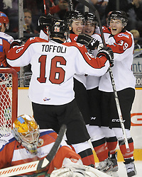 Team OHL vs. Team Russia in the SUBWAY Super Series in Ottawa, ON on Thursday Nov. 10, 2011. Photo by Aaron Bell/OHL Images