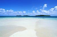 France - Département d'Outre mer de la Guadeloupe (DOM)- Grand Cul de Sac Marin - Îlet blanc / Îlet du sable