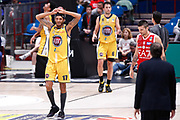 Delusione Washington Deron, EA7 EMPORIO ARMANI OLIMPIA MILANO vs AUXILIUM FIAT TORINO, 25 giornata Campionato Lega Basket Serie A, Milano 08 aprile 2018 Mediolanum Forum FOTO: Bertani/Ciamillo