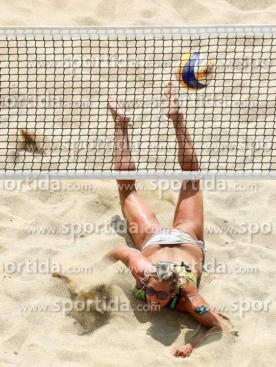 Erika Fabjan during Beach Volleyball Slovenian National Championship 2016, on July 23, 2016 in Kranj, Slovenia. Photo by Matic Klansek Velej / Sportida
