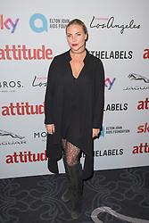 EDITORIAL USE ONLY<br /> Samantha Womack attends the 2016 Attitude Awards in association with Virgin Holidays, at 8 Northumberland Avenue, London.
