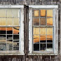Coastal shanty detail, Menemsha, Cillmark, Martha's Vineyard, Massachusetts
