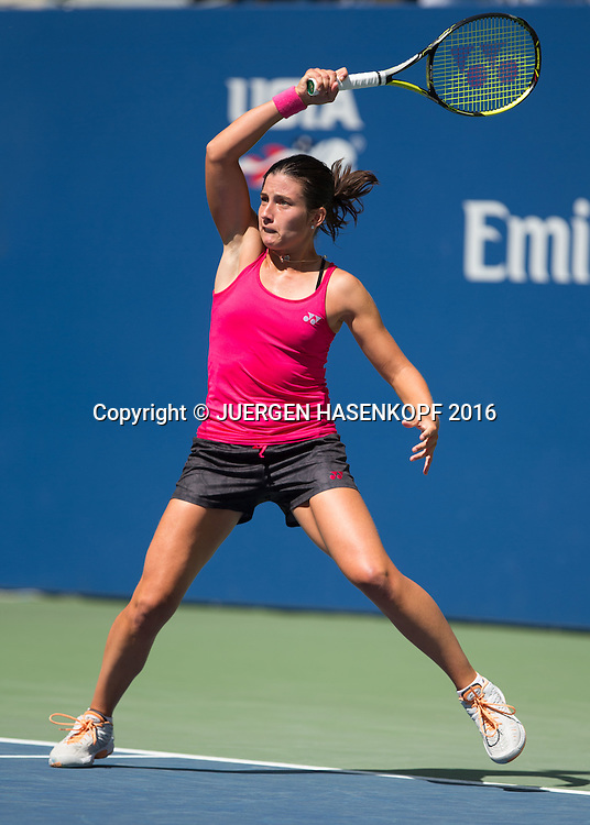 ANASTASIJA SEVASTOVA (LAT)<br /> <br /> Tennis - US Open 2016 - Grand Slam ITF / ATP / WTA -  USTA Billie Jean King National Tennis Center - New York - New York - USA  - 4 September 2016.