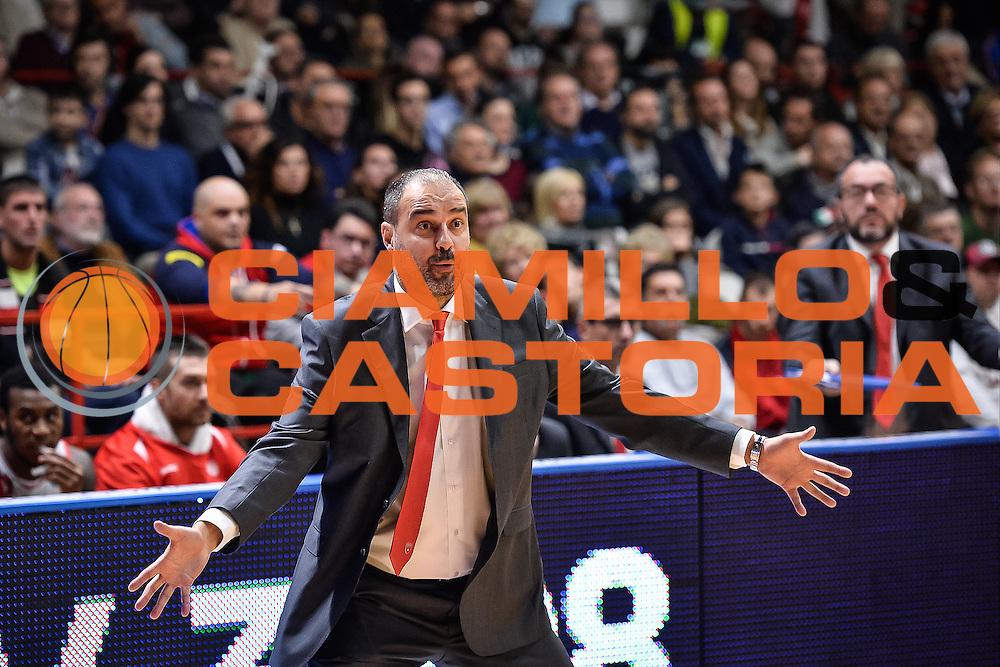 Openjobmetis Varese - Sidigas Avellino<br /> Basket Fiba Champions 2016/2017<br /> Desio 06/11/2016<br /> Foto Ciamillo-Castoria