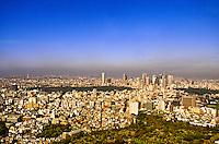 Looking from Mori Tower (Roppongi Hills) toward Shinnjuku area, Tokyo, Japan