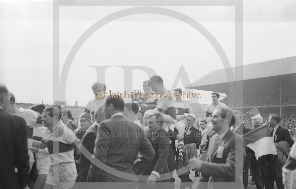 1965 All Ireland Minor football final. Derry v. Kerry. 26th September 1965. Croke Park, Dublin.