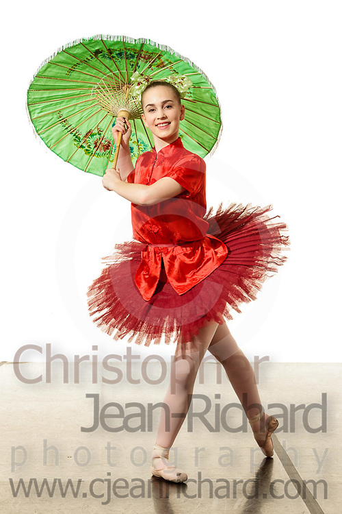 Students of the Payne Academy of Performing Arts and Woodlands Ballet Ensemble pose in their Nutcracker costumes.<br /> <br /> December 2015<br /> Payne Academy of Performing Arts<br /> The Woodlands, Texas