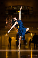 Dance As Art The New York Photography Project Grand Central Series with Shoko Fujita