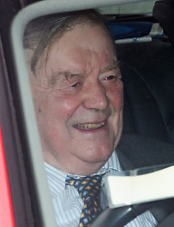 © Licensed to London News Pictures. 27/03/2019. London, UK.  Conservative MP KEN CLARKE is seen arriving at the Houses of Parliament in London. MPs will hold a series of indicative votes on different Brexit options this evening. Photo credit: Ben Cawthra/LNP