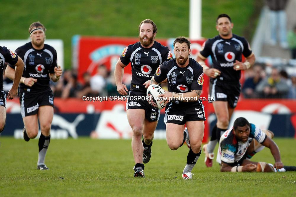 Nathan Fien. NRL, Vodafone Warriors v Penrith  Panthers, Mt Smart Stadium, Auckland, Sunday 31 August 2008. Photo: Andrew Cornaga/PHOTOSPORT
