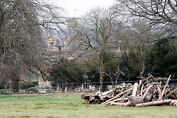 © Licensed to London News Pictures.  13/03/2012. CHIPPING NORTON, UK. General view of the home of Rebekah Brooks, former News of the World editor, and husband Charlie Brooks, taken today from a public bridalway. Both are thought to have been arrested this morning on suspicion of conspiracy to pervert the course of justice as part of Operation Weeting looking into phone hacking.  Photo credit :  Cliff Hide/LNP