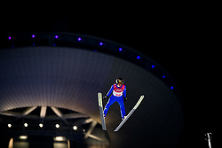 February 8, 2018 - Pyeongchang, SOUTH KOREA - 180208 Richard Freitag of Germany competes during the Men's Normal Hill Individual Qualification ahead of the 2018 Winter Olympics on February 8, 2018 in Pyeongchang..Photo: Jon Olav Nesvold / BILDBYRN / kod JE / 160146 (Credit Image: © Jon Olav Nesvold/Bildbyran via ZUMA Press)