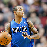 07 December 2013: Dallas Mavericks shooting guard Monta Ellis (11) brings the ball upcourt during the Dallas Mavericks 108-106 victory over the Portland Trail Blazers at the Moda Center, Portland, Oregon, USA.
