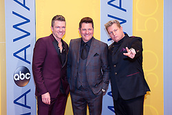 November 2, 2016 - Nashville, Tennessee, USA - Rascal Flatts on the red carpet at the 50th Annual CMA Awards that took place at the Bridgestone Arena in downtown Nashville, Tennessee. (Credit Image: © Jason Walle via ZUMA Wire)