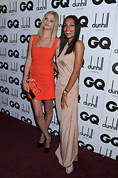 Left to right, Woman of The Year LARA STONE and ROSARIO DAWSON at the GQ Men of the Year 2011 Awards dinner held at The Royal Opera House, Covent Garden, London on 6th September 2011.