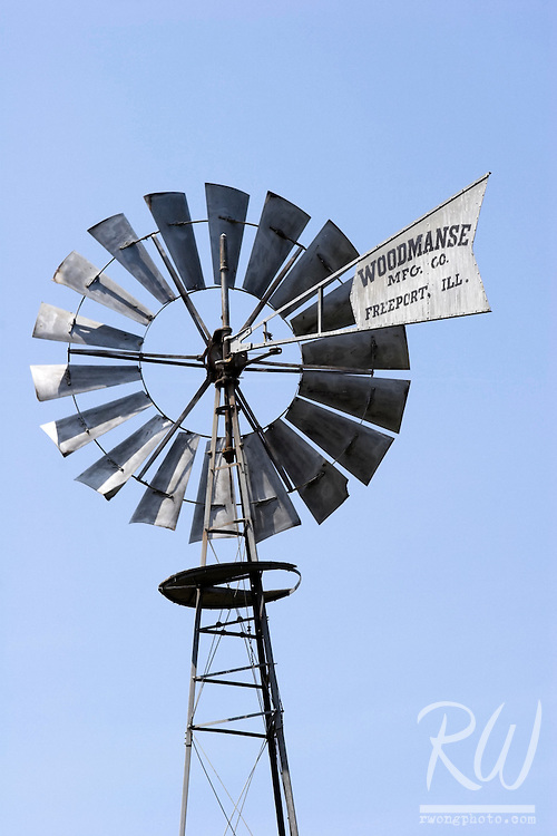 Old Antique Woodmanse Windmill, Fullerton Arboretum, California