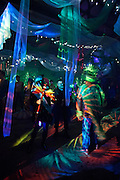 """The New Orleans Radical Faeries 23rd Annual Saint Brigid Ball at the Old Ironworks Building.  Theme: """"20,000 Faeries Under the Sea"""""""