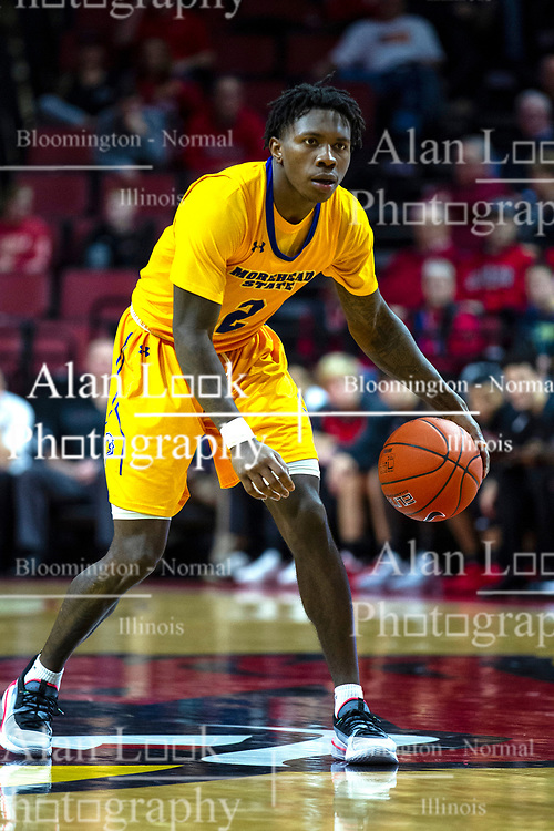 NORMAL, IL - December 07: Jordan Walker during a college basketball game between the ISU Redbirds and the Morehead State Eagles on December 07 2019 at Redbird Arena in Normal, IL. (Photo by Alan Look)
