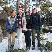 Gigi Cuyno Family Portraits, South Lake Tahoe, Winter, Snow, Christmas, Holiday, Kids, 2016