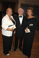 Left to right, DAVID & ANN CROFT he wrote some of the Dad's Army TV scripts and ANITA FENN at a gala dinner for the Theatre Royal Bury St.Edmunds to celebrate the near completion of the restoration of the Grade 1 listed theatre, held at the Royal Academy, Piccadilly, London on 9th July 2007.<br /><br />NON EXCLUSIVE - WORLD RIGHTS