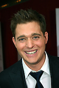 Michael Buble portrayed before entering the 'The Devil Wears Prada' premiere at the AMC LOEWS in Lincoln Square, New York, USA, on Monday, June 20, 2006. **ITALY OUT**
