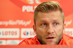 August 31, 2017 - Copenhagen, Denmark - Jakub Blaszczykowski (POL), during press conference before FIFA World Cup 2018 qualifier MD-1 between Denmark and Poland at Parken Stadium in Copenhagen, Denmark on 31 August 2017. (Credit Image: © Foto Olimpik/NurPhoto via ZUMA Press)