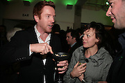 DAMIAN LEWIS AND  HELEN MCCRORY, Tom Cairns directs Almeida Fundraising Benefit sponsored by Coutts and Co. -A Chain Play by Samuel Adamson, Moira Buffini, David Hare, Charlotte Jones, Frank McGuinness and Roy Williams. Almeida theatre. London. 23 March 2007.  -DO NOT ARCHIVE-© Copyright Photograph by Dafydd Jones. 248 Clapham Rd. London SW9 0PZ. Tel 0207 820 0771. www.dafjones.com.