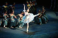 "Alina Cojocaru in Royal Ballet's production of ""Sleeping Beauty"""