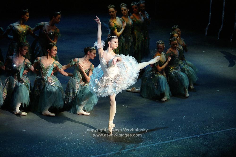 "Alina Cojocaru in Royal Ballet's production of ""Sleeping Beauty"""