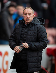 STOKE-ON-TRENT, ENGLAND - Saturday, January 25, 2020: Swansea City's manager Steve Cooper before the Football League Championship match between Stoke City FC and Swansea City FC at the Britannia Stadium. (Pic by David Rawcliffe/Propaganda)