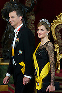 060914 Spanish Royals and President of United States of Mexico Attend Dinner Gala