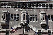 New York. old architecture in Manhattan.